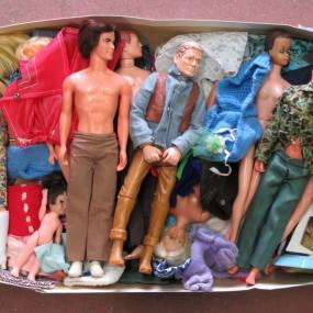#24224 -  Lot de poupées barbies