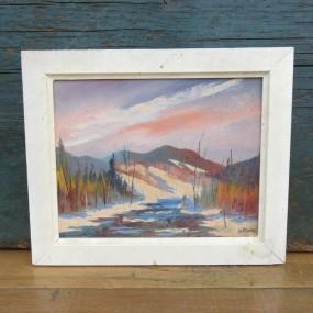 #24238 - 75$ Petit tableau, peinture
