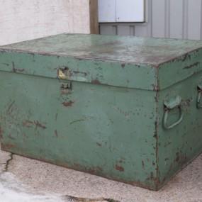 #24345 - 135$ Coffre en métal