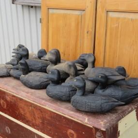 #26414 -  Lot d'appelants, canards de bois