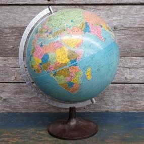 #26418 - 35$ Globe terrestre vintage