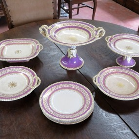 #26390 -  Ensemble de vaisselle en porcelaine