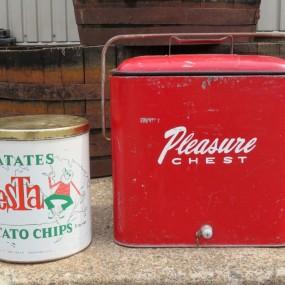 #26389 -  Boîte de croustilles Fiesta et glacière cooler Pleasure