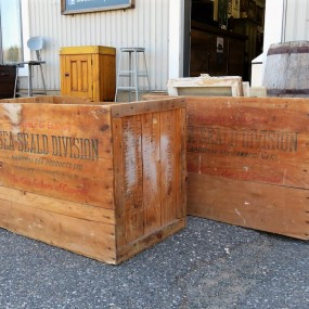 #26476 - 45$ ch. Boîtes, caisses de bois