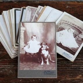 #22420 - 4$ ch. lot d'anciennes photos