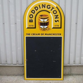 #22387 - 80$ Boddingtons advertising sign