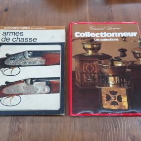 #22398 - 20$ ch. livres sur armes à feu et moulins à café