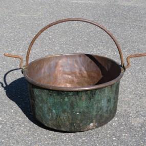 #22408 - 195$ chaudron en cuivre
