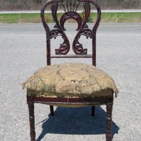 #26492 -  Chaise victorienne