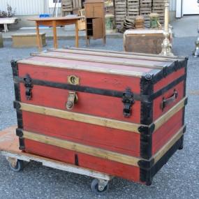 #24755 -  Malle, valise de voyage, coffre