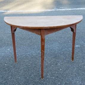 #24756 - 285$ Table demi lune