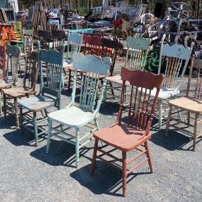 #26471 -  Lot de chaises, pressback