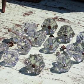 #26465 - 7$ ch. Poignées en verre