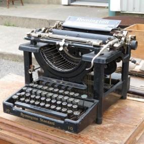 machine à écrire, dactylo