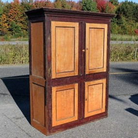 Forged nails cupboard, armoire