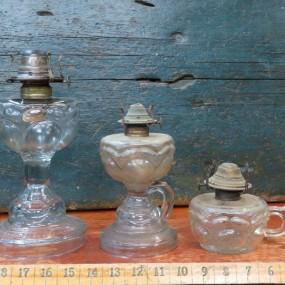 #24854 - 65$ ch. Lampes à l'huile, modèle peanut