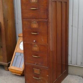 #26625 - 445$ Meuble classeur 4 tiroirs, meuble filière