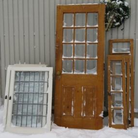 #24923 -  Windows and door