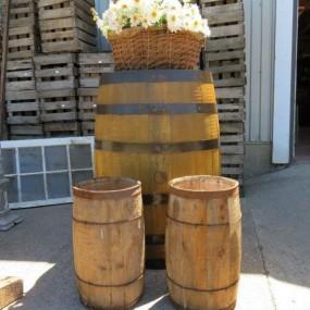 #26878 -  Petits barils à clous et baril à Whisky (restauré)