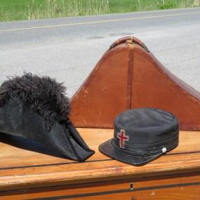 #26867 - 165$ Chapeau et casquette avec boîtier