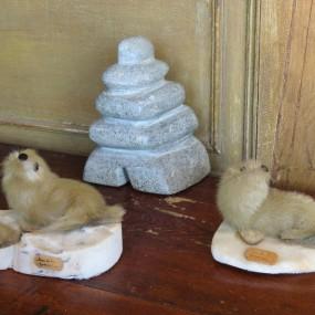 #26857 - 45$ à 85$ ch. Art Inuit, sculpture