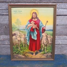 #25227 - 25$ Cadre avec image religieuse
