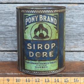 boîte, contenant pony brand
