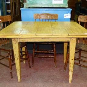Ancienne table papillon