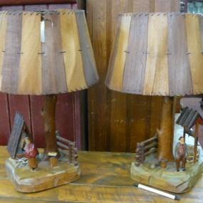 Lampes art populaire, St-Jean-Port-Joli