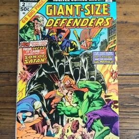 Ancienne bande-dessinée Marvel, Giant-size Defenders
