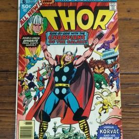 Ancienne bande-dessinée Thor