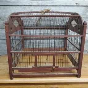 Ancienne cage à oiseau