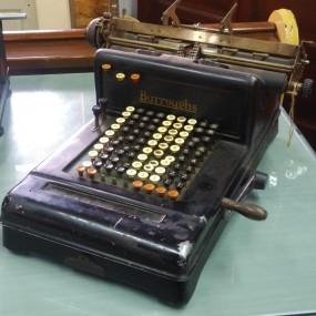 Burroughs calculator machine
