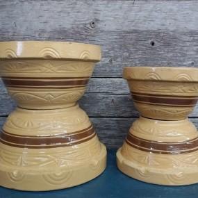 Anciens bols, poterie