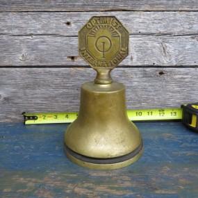 #27293 - 135$ Cloche du club optimist en brass