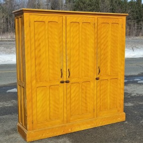 Three doors cupboard, armoire