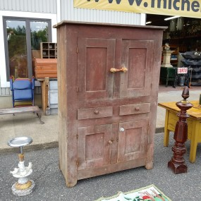 Antique country cupboard, armoire