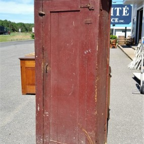 Country pine jam cupboard, armoire