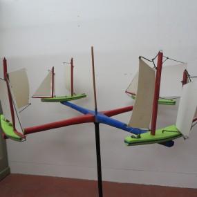Art populaire, girouette mécanique