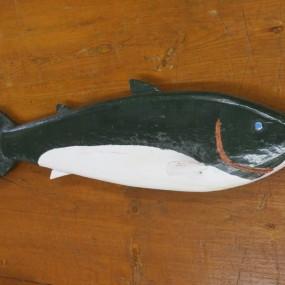 Art populaire, sculpture naïve, poisson