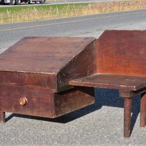 Shoemaker worck bench