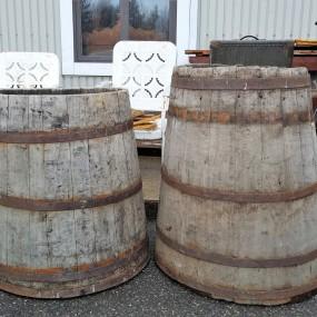 Water maple barrels