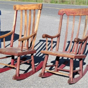Berceuses  de St-Hilarion, chaises