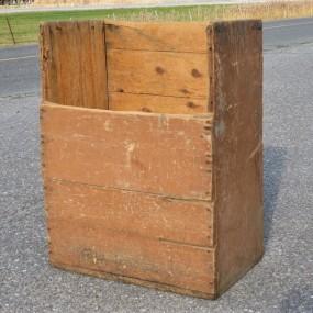 Boîte à bois de chauffage