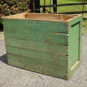 Boîte pour ranger le bois de chauffage