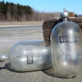 Surge bottles