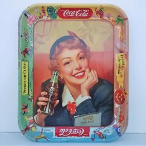 Coca-Cola advertising tray