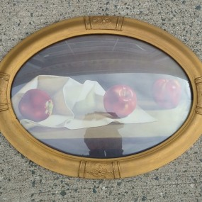 Cadre à vitre bombée