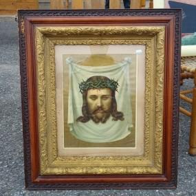Cadre avec image religieuse