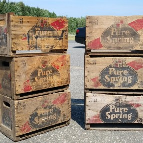 Pure Spring vintage boxes